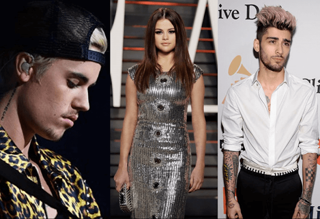Justin Bieber acusa a Selena Gomez de engañarlo con Zayn.