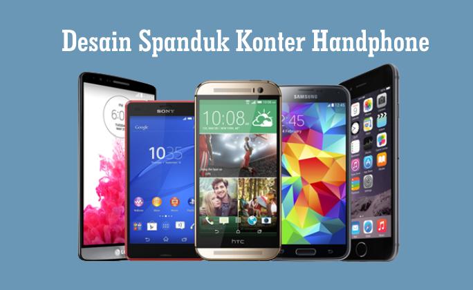 Spanduk Konter Handphone Cdr