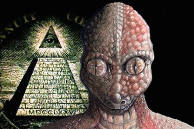 Illuminati e alienígenas reptilianos (Documentário Brasil)