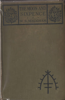 The Moon and Sixpence, First UK edition, 1919 by W. Somerset Maugham