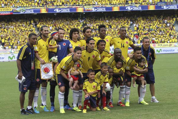 Formación de Colombia ante Chile, Clasificatorias Brasil 2014, 11 de octubre de 2013