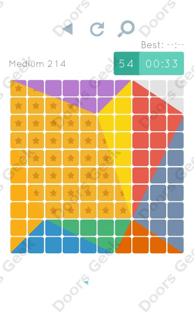 Cheats, Walkthrough for Blocks and Shapes Medium Level 214