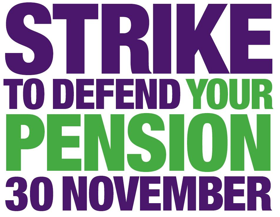 Strike to Defend Your Pension