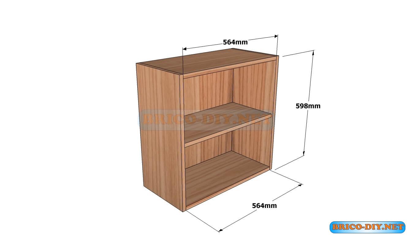 como hacer muebles de cocina de madera rusticos mueble de cocina plano alacena de madera