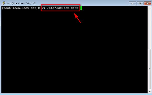 Filtering Untuk Allow/Deny IP dan Port tertentu di ConfigServer Security & Firewall (csf)
