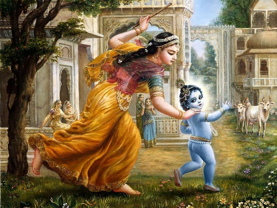 Mahabharat-Krishna-Bermain-Dengan-Gopi-HD-Wallpaper