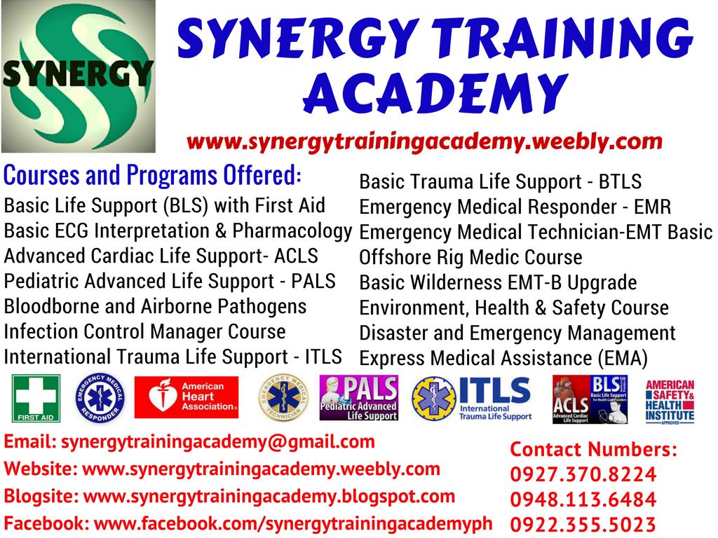 Synergy Training Academy Emergency Medical Technician Basic Course
