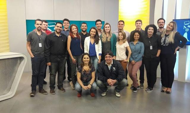 Participantes da última edição do Curso de Residência em Jornalismo da Rede Gazeta (Imagem: Divulgação)