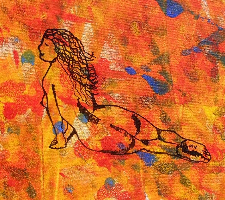 Abstract Woman 1 an original work of art from the Zen of ...
