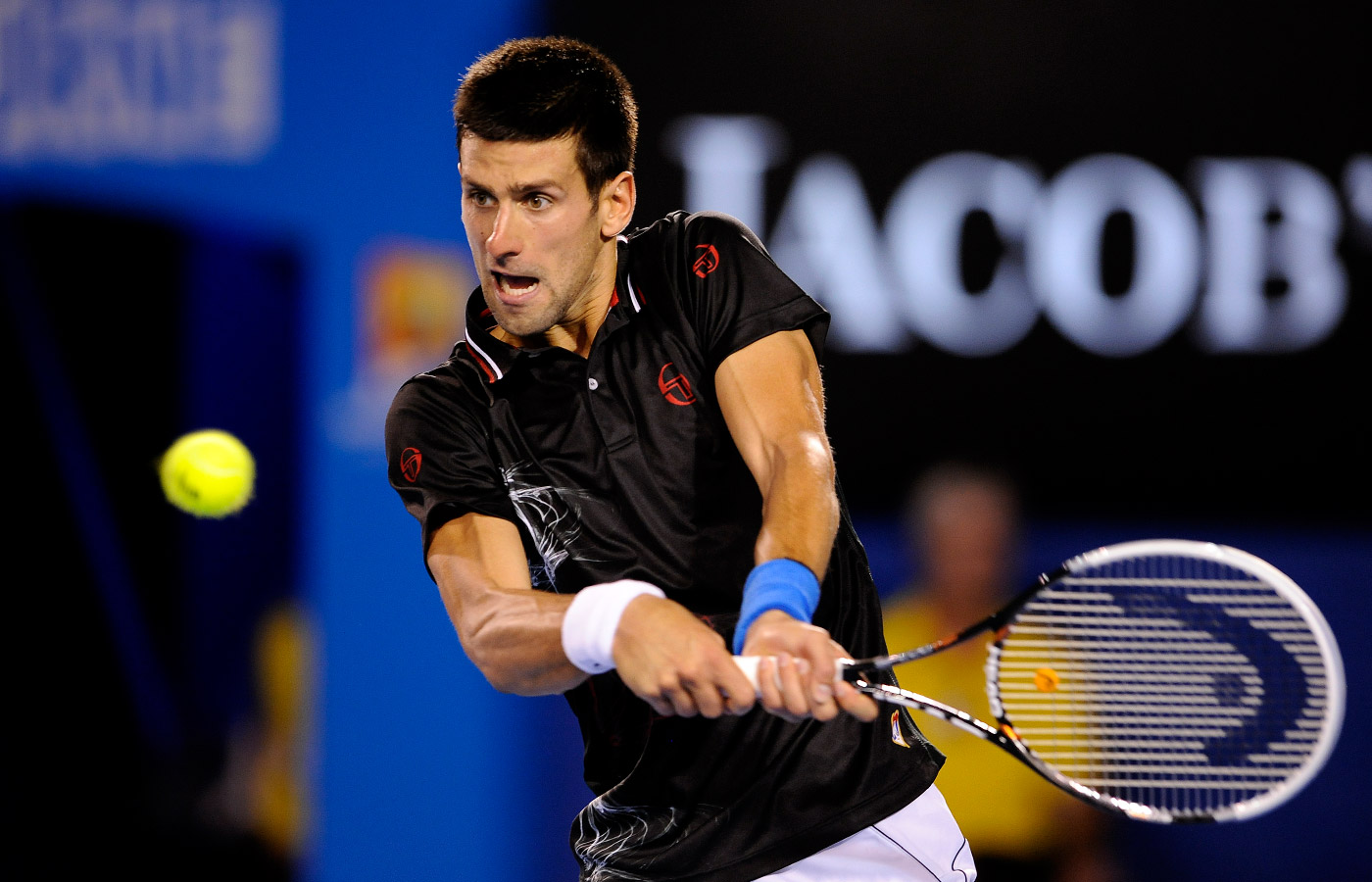 Djokovic backhand