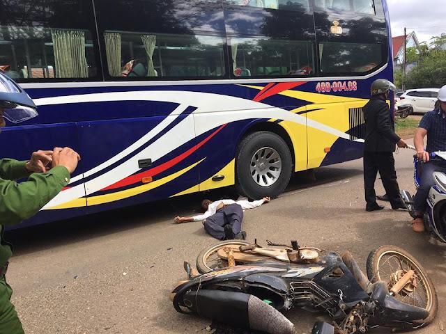 Lâm Đồng:  Ông lão tử vong do tham gia giao thông khi say rượu ngày 8/11/2018