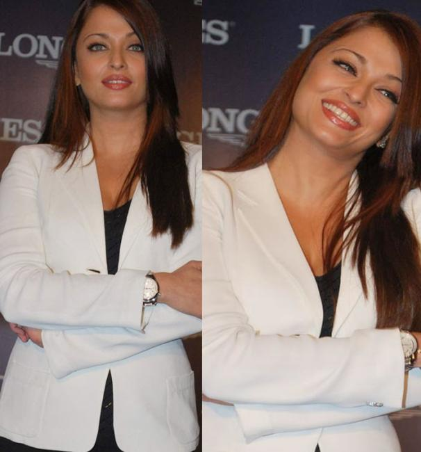 Aishwarya Rai Poses For Longines Watch Photos