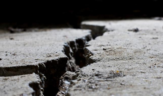 Luces antes de un terremoto