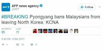Pyongyang Bans Malaysia