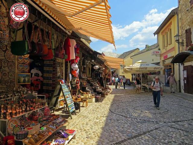 Bazar de Kujundziluk, Mostar, Bosnia y Herzegovina