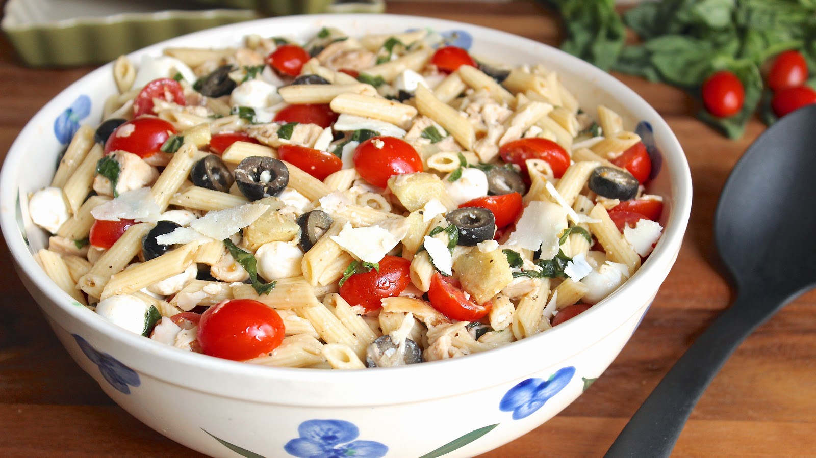 Italian chicken pasta salad in good flavor great recipes great italian chicken pasta salad forumfinder Choice Image