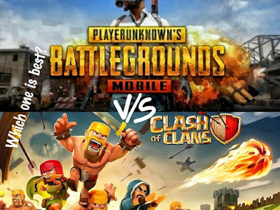 COC vs PUBG Mobile. Which one is best?