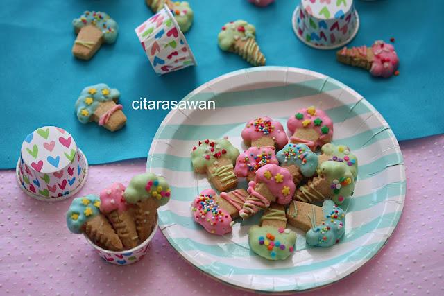 Biskut Ais Cream  Ice Cream Cookies