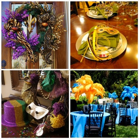 Kari S Cooking Mardi Gras Tablescape Ideas