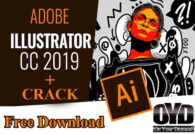 Adobe illustrator cc 2019 full crack