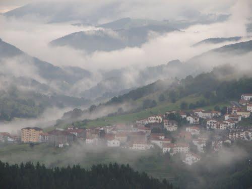 Resultado de imagen de niebla en Villanueva de la Vera