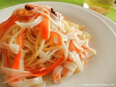 Palitos de cangrejo gratinados recetas