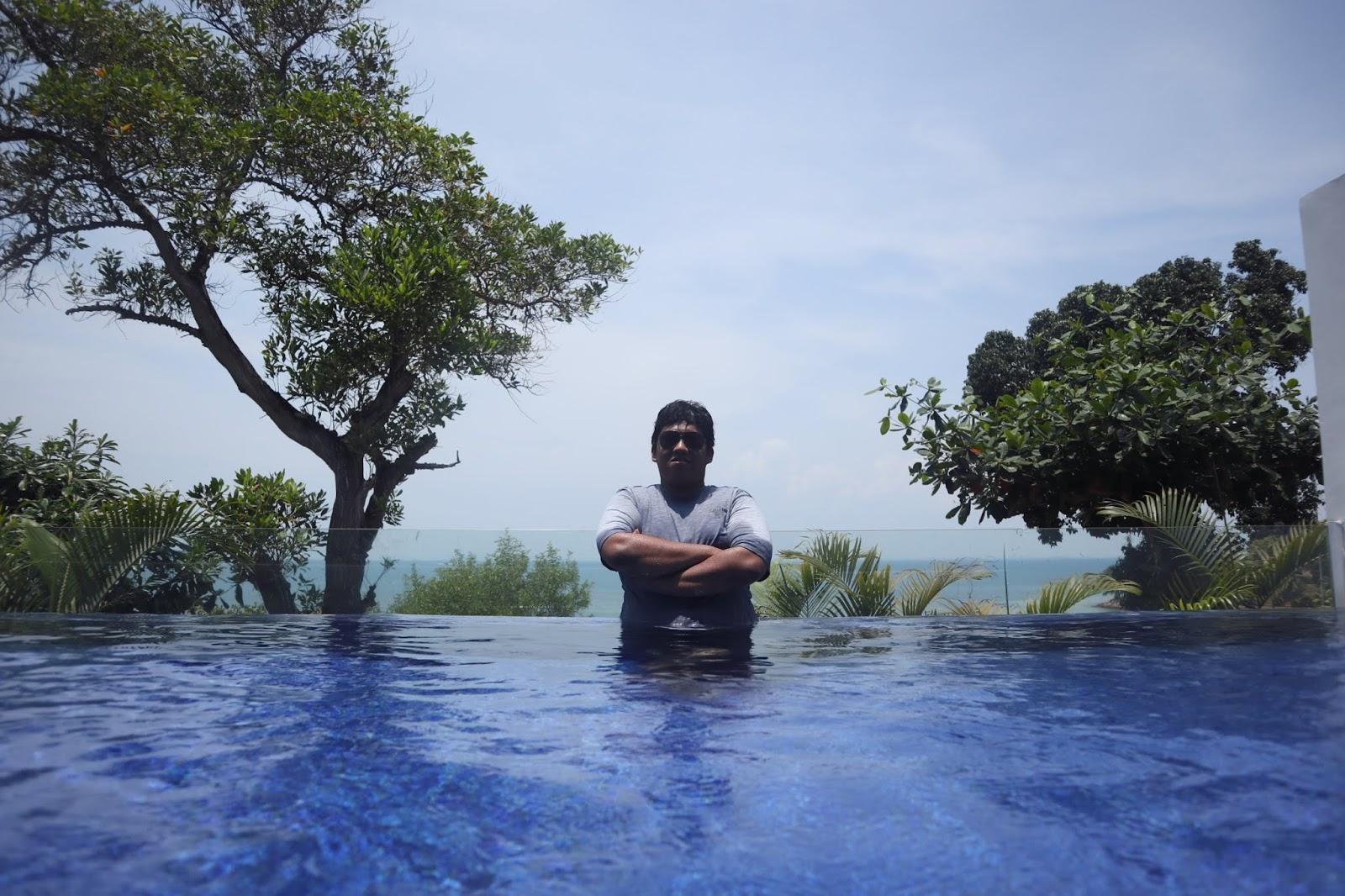 View dari Kamar Villa Montigo Resort Nongsa