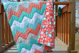 https://www.etsy.com/listing/288695333/chevron-baby-quilt-in-turquoise-blue-and