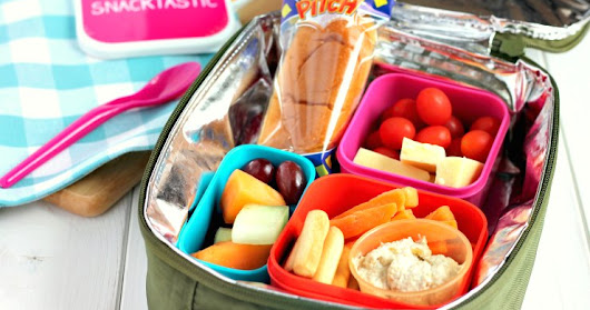 Back To School Lunchbox Ideas & Tips