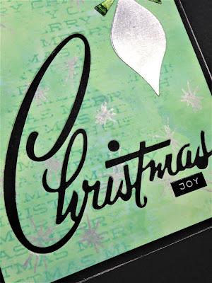 Sara Emily Barker http://sarascloset1.blogspot.com/ Retro Christmas Card Christmas Joy 3