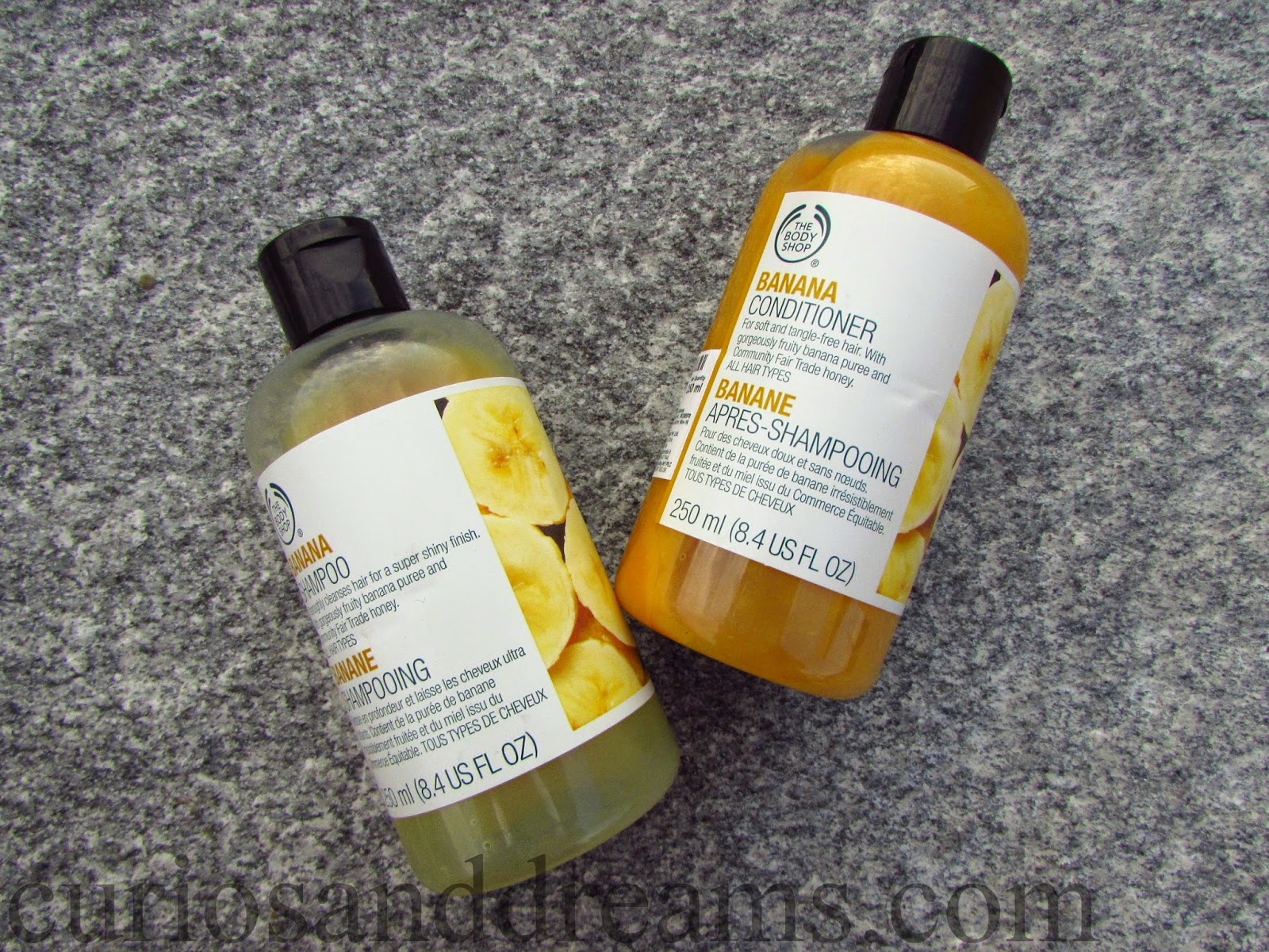 The Body Shop Banana Shampoo & Conditioner review, The Body Shop Banana Shampoo review, The Body Shop Banana Conditioner review