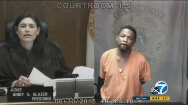 Hombre rompió en llanto cuando supo que conocía a la juez