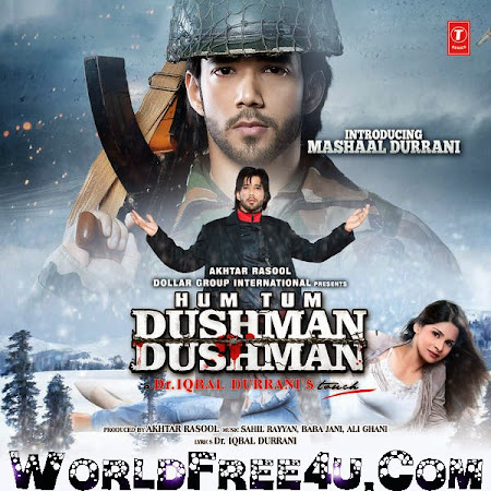 Poster Of Hindi Movie Hum Tum Dushman Dushman 2015 Full HD Movie Free Download 720P Watch Online