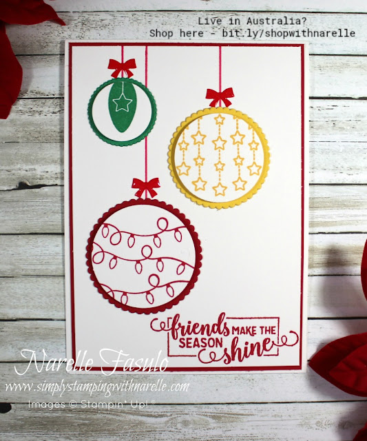 Make amazing cards easily with our wonderful products. See our full range of products here - http://bit.ly/shopwithnarelle