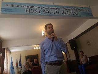 Ο Βαγγέλης Αυγουλάς μιλάει στο συνέδριο