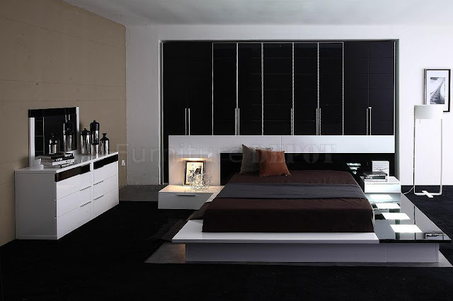 Contemporary Bedroom Furniture Set Awesome G18