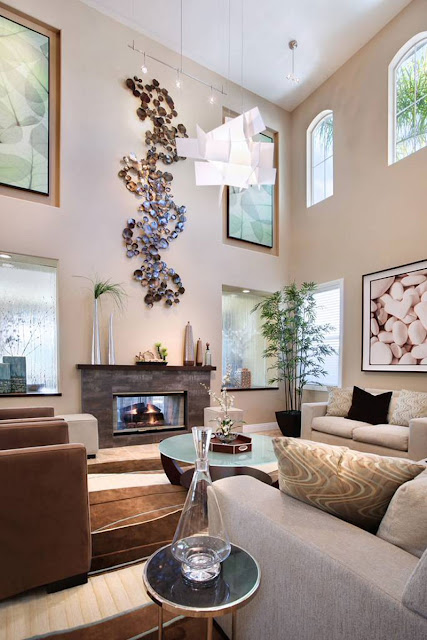 Awesome Decorating Ideas For Living Rooms With High Ceilings