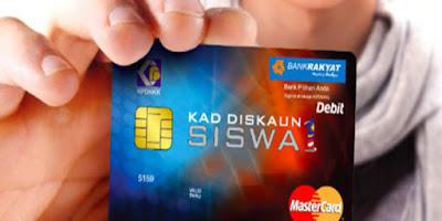 Permohonan Kad Debit Pelajar 2019 Online (KADS1M)