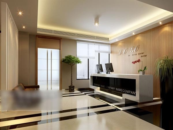 Corporate front 3D model design free 3d max models ~ vectorkh