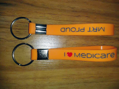 Custom Orange Keychains