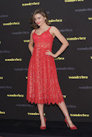 Miranda Kerr attends the promotional event for Wonderbra in Seoul, South Korea