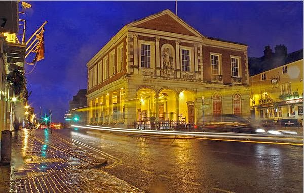 Buy canvas print of Windsor Guildhall