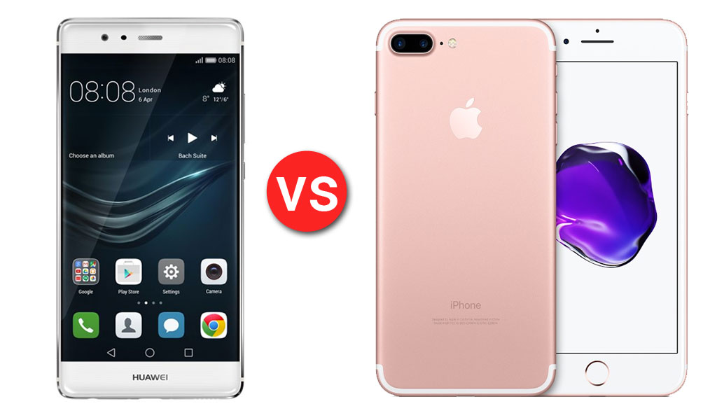 Huawei P9 vs iPhone 7 Plus
