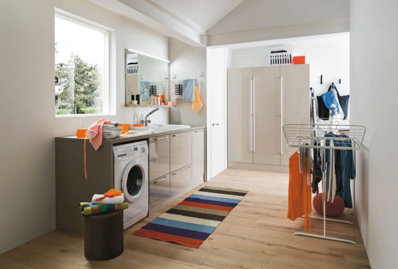 Arredare la lavanderia di casa con i mobili componibili