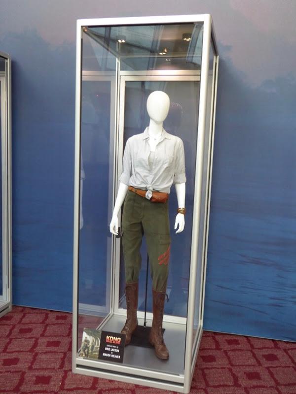Brie Larson Kong Skull Island movie costume