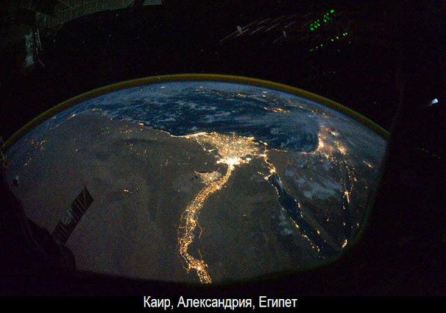 Ночная Земля из космоса 9