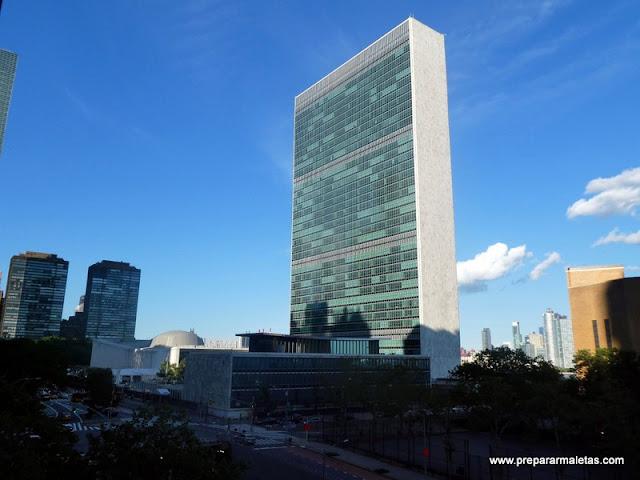 Edificio de las Naciones Unidas Nueva York