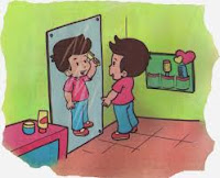 Cermin datar, cermin cekung dan cermin cembung
