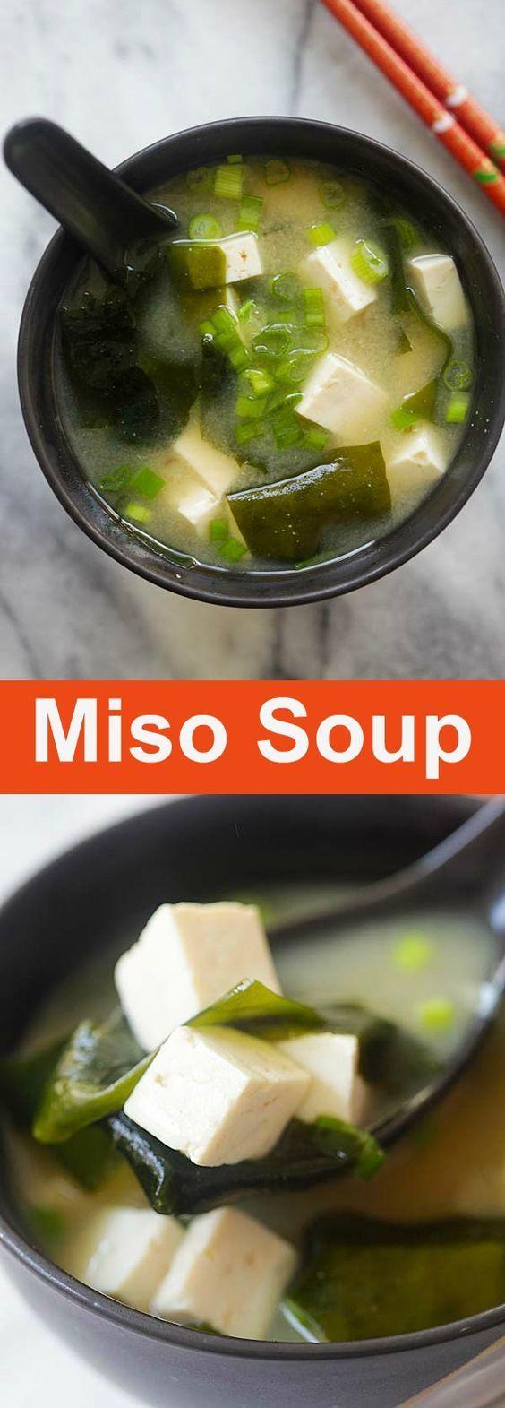 Easy Miso Soup #SOUP #MAINCOURSE