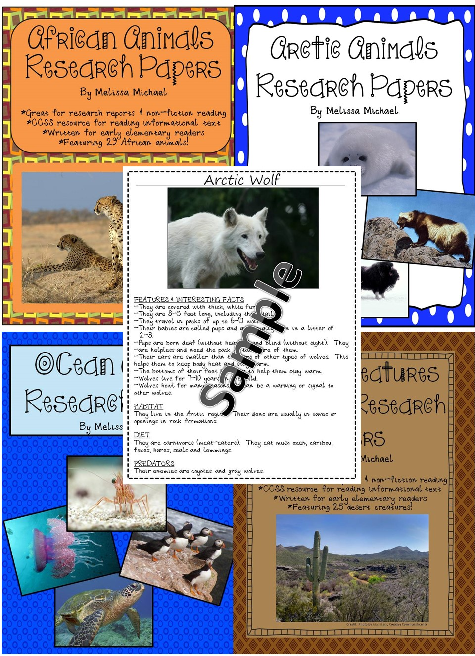 good animals for research papers